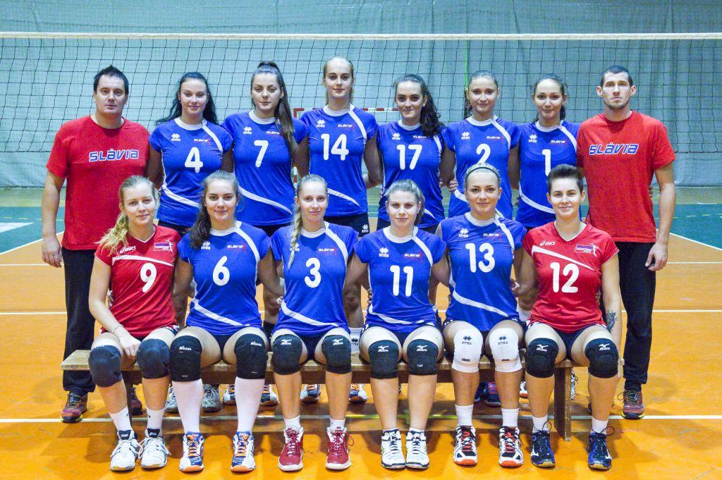 Družstvo žien Slávia Ekonomická Univerzita 2015   2016 b1569fa4ad